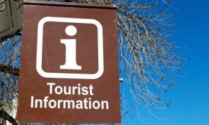Tourism sign